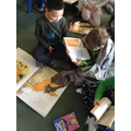 We brought in our favourite books and shared them.