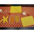 Creating textured starfish