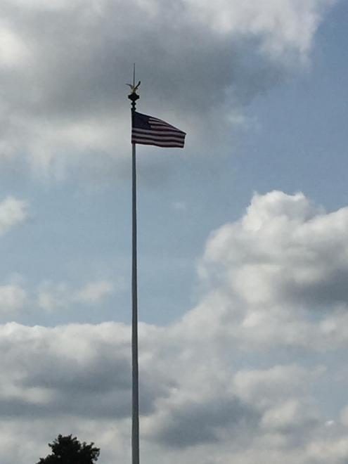 US Flag at Coleville