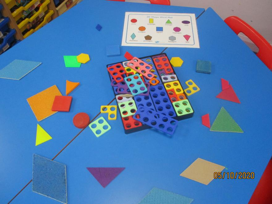 Counting shape sides