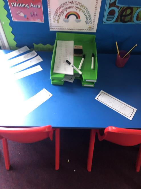 Forming letters accurately