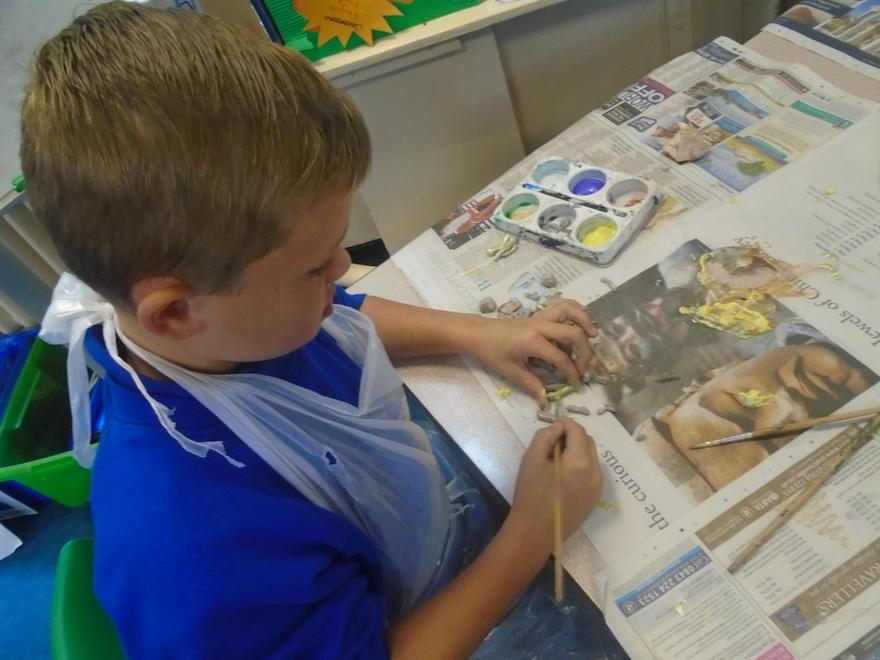 Clay Workshops in Year Five!