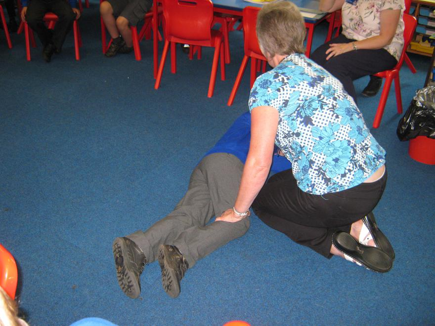 First Aid - The Recovery position