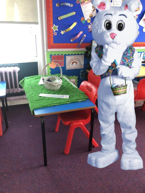 Look who visited our classes!