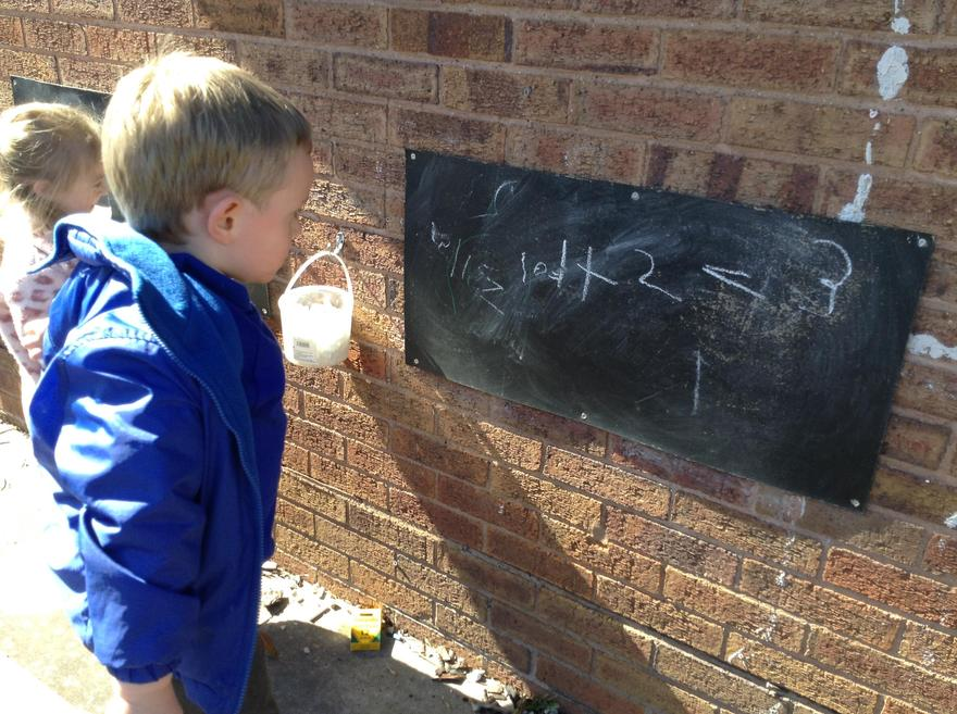 Outdoor writing