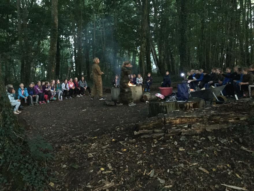 Campfire at PGL!