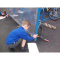 Finding and measuring right angles