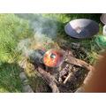 Book hook day - making stew