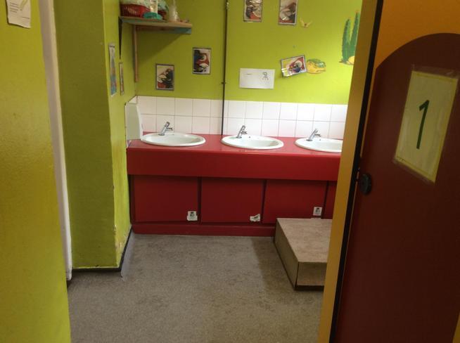 Classroom hand-washing