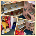 Role-Play Area- Tiger Who Came to Tea & Dress Up