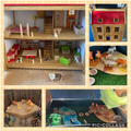 Small World- House with Pets and Jungle
