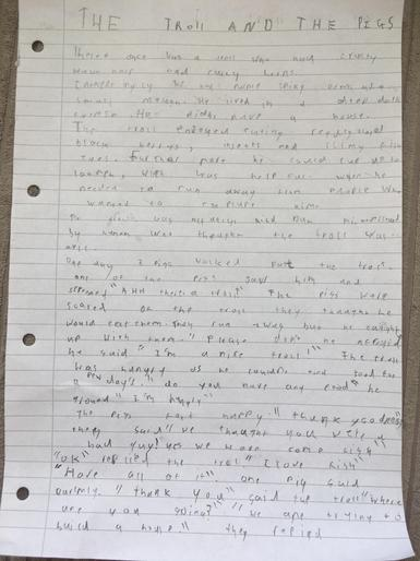 George S (3H) - Story Part 1