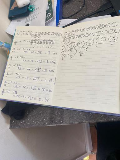 Lily-Jane B (3OW) - Maths Work