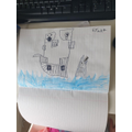 Away we sail - fantastic drawing Paige