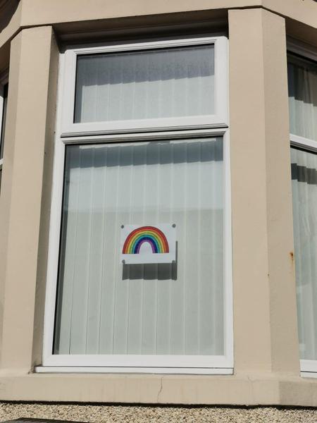 I spy a rainbow!
