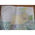 You have created wonderful texture in your drawing Jacob