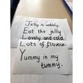 Brilliant acrostic poem Marley & Gloria!