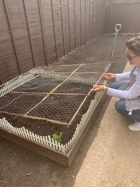 Miss Whelan has been very busy in the garden.
