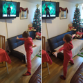 Keeping physically fit at home - so important . Well done