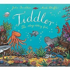 WB- 01.06.2020- Our book this week, Tiddler- The story telling fish. We really hope you have fun taking part in the activities we have set this week.