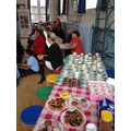 Thank you for your generous donations of cakes!