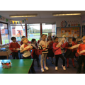 Music - we made our own guitars!