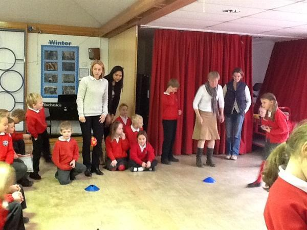 Class 3 Literacy Group Quiz Show Morning