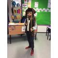 Beech Costume Winner - Joshua