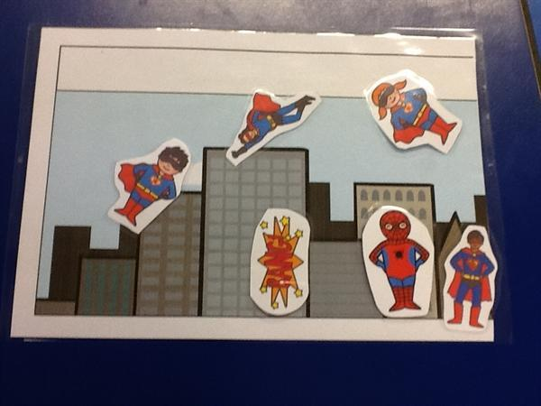 Super Heroes by Louis and Marcus