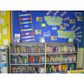 Infant reading shelves