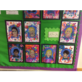 Our Self Portraits in the style of Frida Kahlo