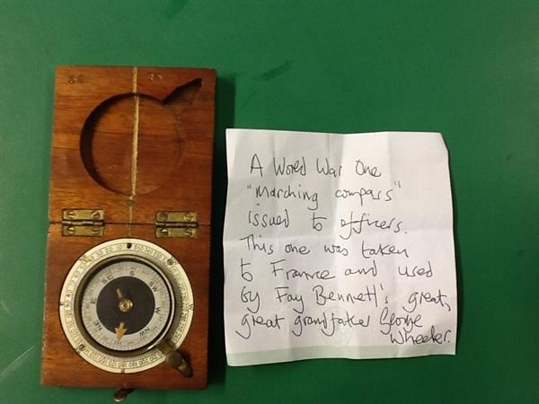 Original WW1 Marching Compass from Fay