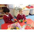 Building houses using shapes
