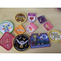 Holly has been working hard on her Brownie badges!