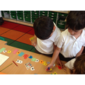 Ordering numbers and matching them to the numicons