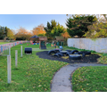 Reception outdoor learning area