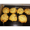 William and Reggie have been making rock cakes!