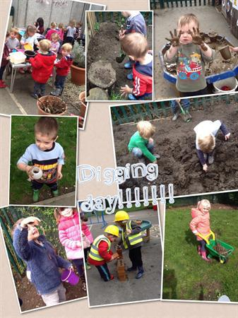Digging day - 10.4.14