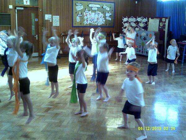 Bollywood dancing!