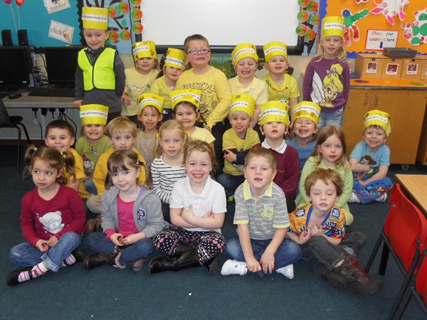 We are the Yellow Class