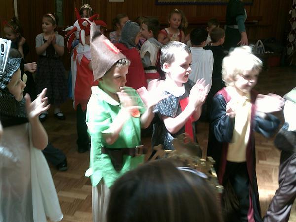 Fun at the medieval banquet