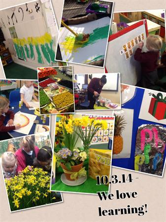 Our learning - 10.3.14