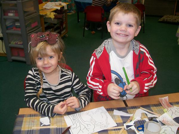 we are making our Gruffalo bookmark