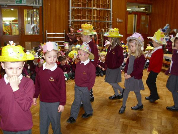 'In my Easter bonnet'