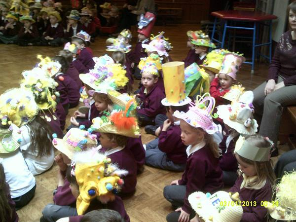 Look at our fantastic Easter hats!