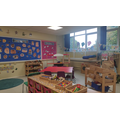 Our Reception Classroom has lots of resources to interest all learners.