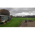 Our school field can be accessed directly from our EYFS outdoor area.