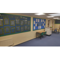 Our Key Stage Two learning space.