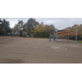 Years 1 - 6 play on the main playground. EYFS have their own dedicated outdoor area.
