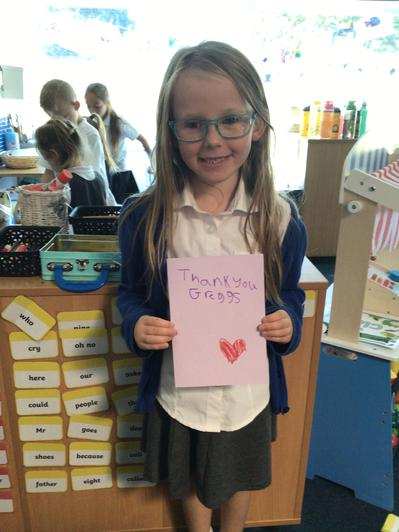 Thank you for our felt tip pens!